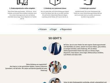 Individual Shop for German Startup