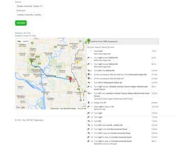 Google Map and Chart