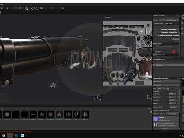 "Shotgun_COG_""MWWG""_Game_model_Low-poly_IN_PROCESS...."