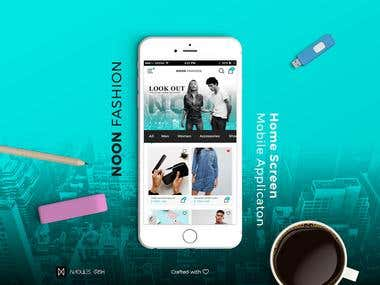 UX/UI Design | Noon Fashion