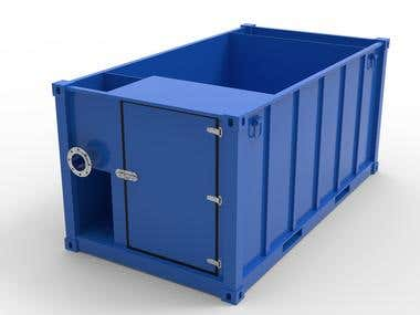 Custom container 3D modeling