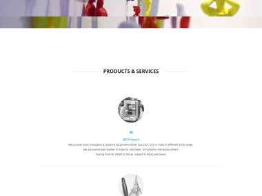3d Printing Service Company | 3d Printing Online Shop / Stor