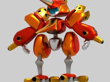 3D MODEL OF MEGABOT