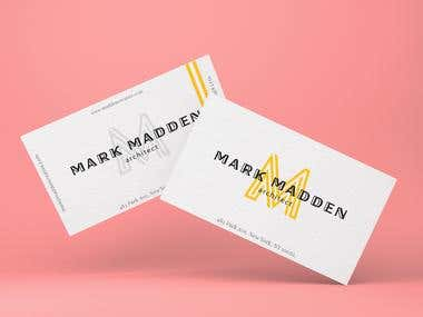 MARK MADDEN - BUSINESS CARDS