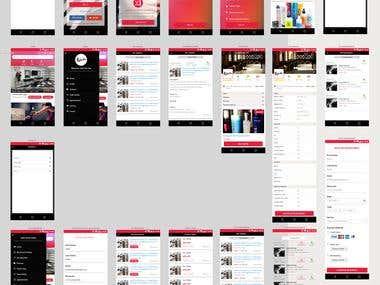 Mobile Screen Designs