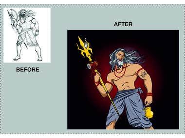 Modified illustration