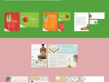 Graphic Design / Catalogue design
