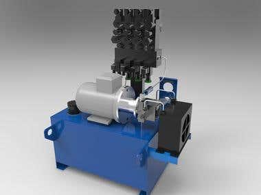 Hydraulic PowerPack Unit