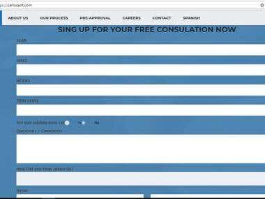 ZOHO CRM Customization for Website integration