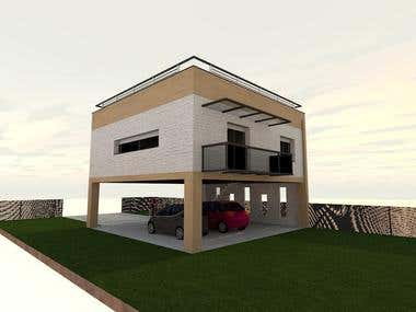 house facade design