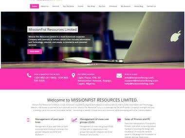 A Professional Mobile Responsive Website