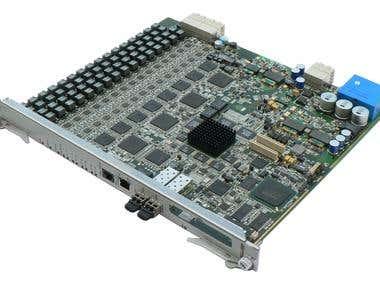 PCB design for ADSL Board