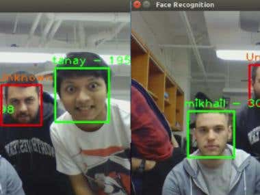 Real-Time Facial Detection and Recognition System