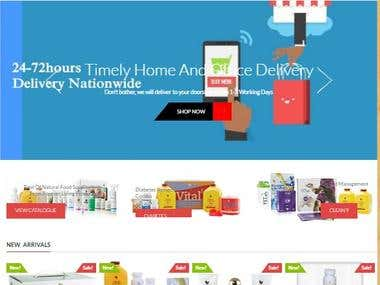 A Professional eCommerce Store For HealthyPlan