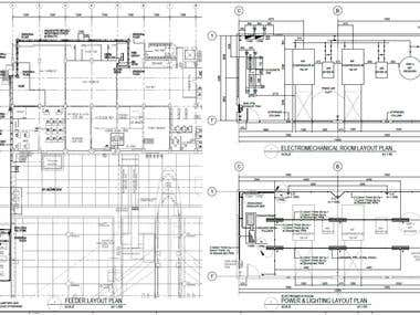 Mechanical/Electrical Drafting in AutoCAD