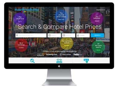 HotelPriceBubble- PSD to Responsive HTML Conversation