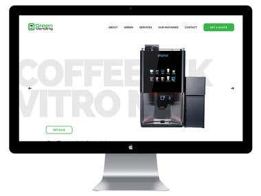 Green Vending- PSD to Responsive HTML Conversation