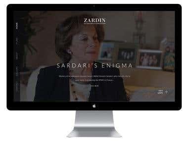 ZardinFilm- PSD to Responsive HTML Conversation