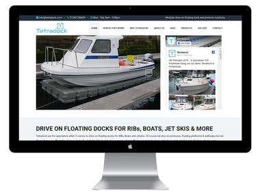 Tetradock- Design and Develop Wordpres Website