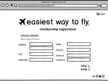 User Interface Design: Easiest Way to Fly