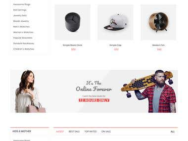 Ecommerce Store in core PHP