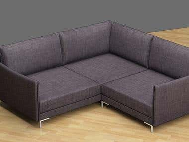 3D furniture vizualisation.