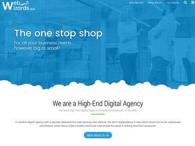 Website in Wordpress for a Digital Agency