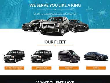 Wordpress Website for Limo Booking