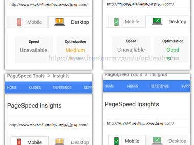 Wordpress - Google Speed Optimization