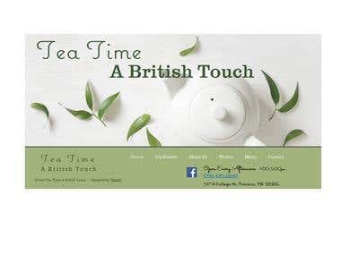 Website for Tea Time