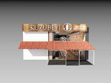 Interior Steakhouse Concept Design