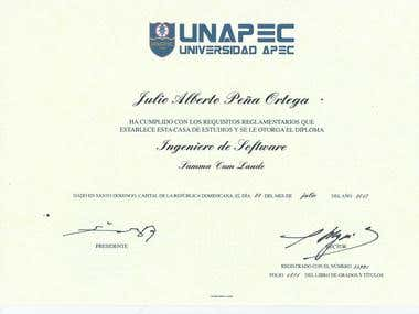 Software Engineer of UNAPEC