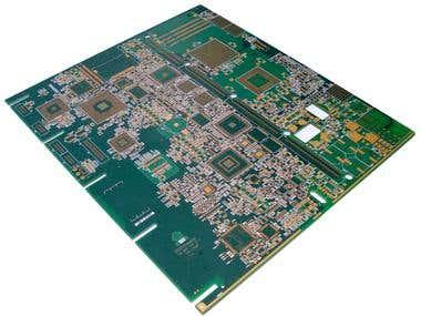 PCB Layout Design - CPU ATCA board