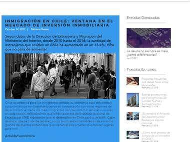 Artículos para Propital.com