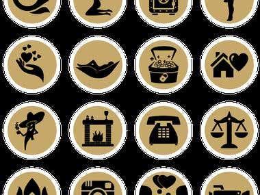 Website Icons design