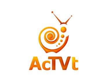 AcTVt - Logo design