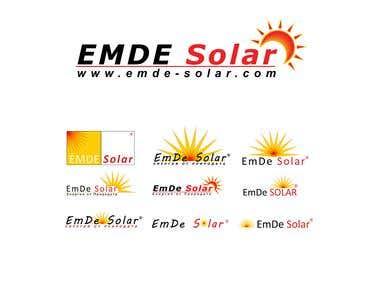 Logo design - emde-solar.com