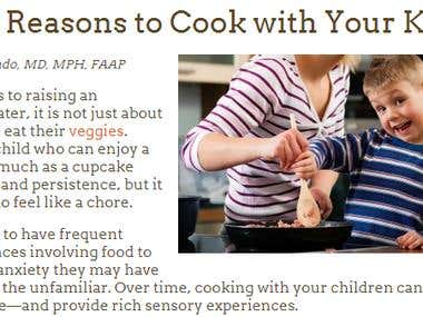 5 Great Reasons to Cook with Your Kids