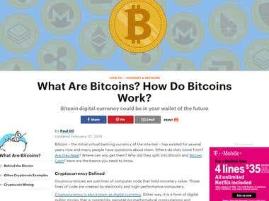 What Are Bitcoins? How Do Bitcoins Work?