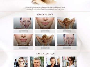 design site for beauty salon