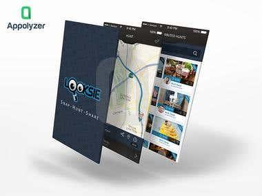 Scavenger App UI Design