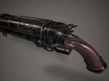 "Shotgun_COG_""MWWG""_Game_model_Low-poly"