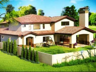 Exterior Architectural 3D model
