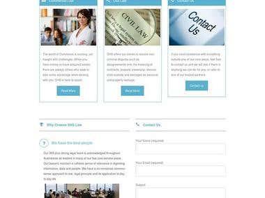 SHS lawer website