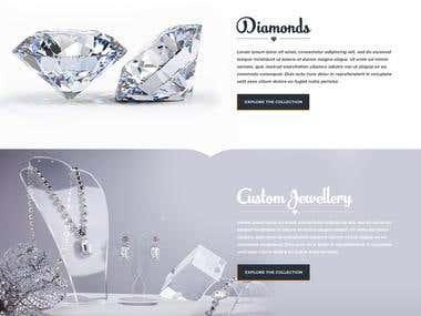 diamond website design