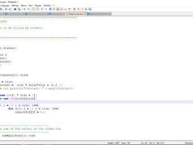 MagicSquare in Java