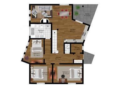 2D\3D floorplan layouts