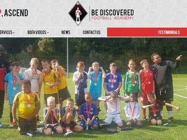 Be Discovered Football Academy