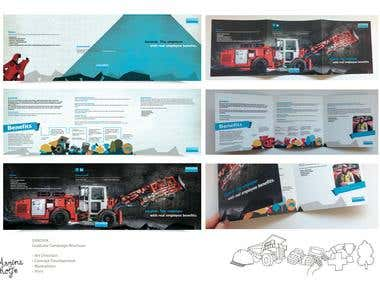 SANDVIK Graduate Campaign Brochure