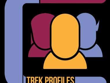 """Trek Profiles"" podcast artwork"